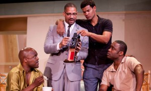 "G. Bruce Smith's Stage and Cinema review of Kemp Powers' ""One Night in Miami…"" at Rogue Machine Theatre, Los Angeles"