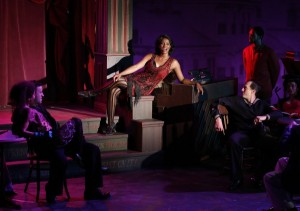 Dmitry Zvonkov's Stage and Cinema Off-Broadway review of Storyville, The York Theater Company at The Theater at Saint Peter's in New York