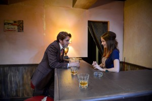 Lawrence Bommer's Stage and Cinema Chicago review of in CONVERSATIONS ON A HOMECOMING at Strawdog Theatre Company.