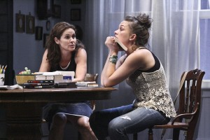 Tom Chaits' Stage and Cinema Los Angeles review of in RAPTURE, BLISTER, BURN at Geffen Playhouse in Westwood.