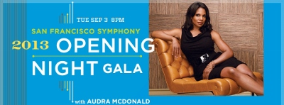 Post image for San Francisco Music Preview: SAN FRANCISCO SYMPHONY 2013-14 OPENING NIGHT GALA (Davies Symphony Hall)