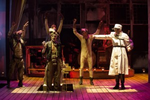 Tony Frankel's Stage and Cinema review of Oregon Shakespeare Festival's THE UNFORTUNATES