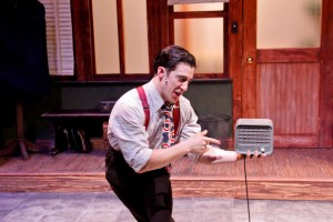 Lawrence Bommer's Stage and Cinema Chicago review of DOUBLE TROUBLE at Porchlight, Stage 773