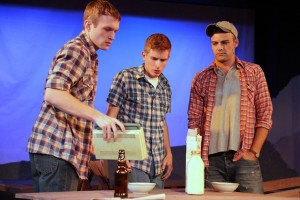 Tom Chaits' Stage and Cinema review of The Burnt Part Boys, West Coast Ensemble Theatre at Third Street Theatre in Los Angeles