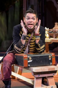 Christopher Michael Rivera in Cal Shakes' production of THE WINTER'S TALE