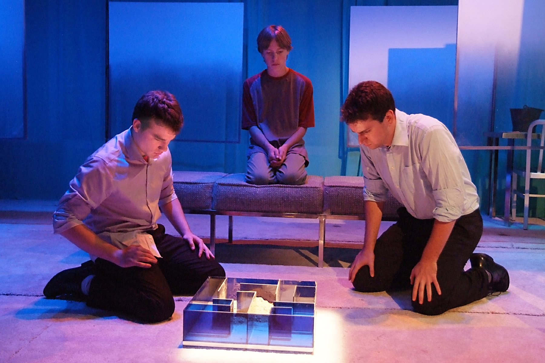 los angeles theater review flowers for algernon deaf west daniel n durant sean eaton josh breslow