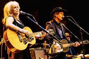 Emmylou Harris & Rodney Crowell at the Beacon - photo by Samantha Marble