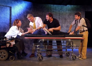 "Tony Frankel's Stage and Cinema Los Angeles review of ""The Normal Heart"" at the Fountain Theatre"
