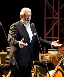 Tony Frankel's Stage and Cinema San Francisco review of Plácido Domingo, Presented by Another Planet Entertainment at the Greek Theatre at UC Berkeley