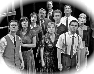 Jason Rohrer's Stage and Cinema Los Angeles review of Twilight Zone UnScripted-Impro Theatre at Falcon Theatre in Burbank