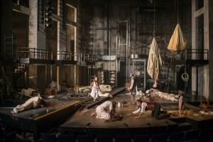 "Lawrence Bommer's Stage and Cinema Chicago review of ""The Wheel"" at Steppenwolf Theatre Company; written by by Zinnie Harris, directed by Tina Landau."