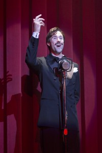 Christopher Johnstone as Magaldi in the national tour of Evita.