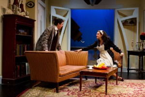 "Elizabeth Neptune & Janna Emig in ""The Learned Ladies"" - Cake Productions and The New Ateh Theater Group."