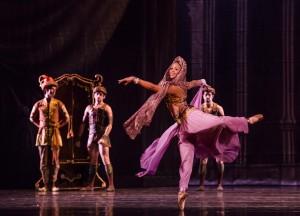 Erica Lynette Edwards in Joffrey Ballet's LA BAYADÈRE-THE TEMPLE DANCER.