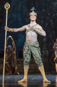 Fabrice Calmels in Joffrey Ballet's LA BAYADÈRE-THE TEMPLE DANCER.