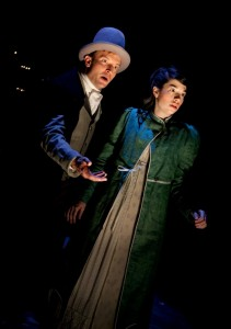 Greg Matthew Anderson and Sarah Price in Remy Bumppo's production of NORTHANGER ABBEY