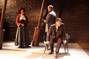 Greyson Chadwick, Isaac Wade and Stephen Van Dorn in Actors Co-op's production of DR. JEKYLL AND MR. HYDE.