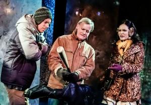 Hamilton Clancy, Dan Teachout and Veronica Cruz. Photo by Jonathan Slaff.