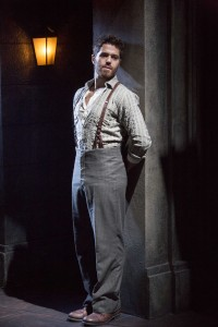 Josh Young as Che in the national tour of Evita.