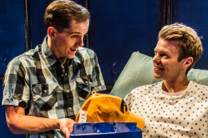 Kurt Quinn and Brian Dare star in the West Coast premiere of the Celebration Theatre production of THE HOMOSEXUALS.