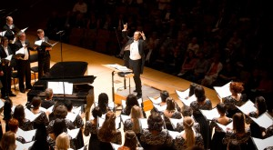 Los Angeles Master Chorale's 50th Season Celebration at Disney Hall, conducted by Music Director Grant Gershon.