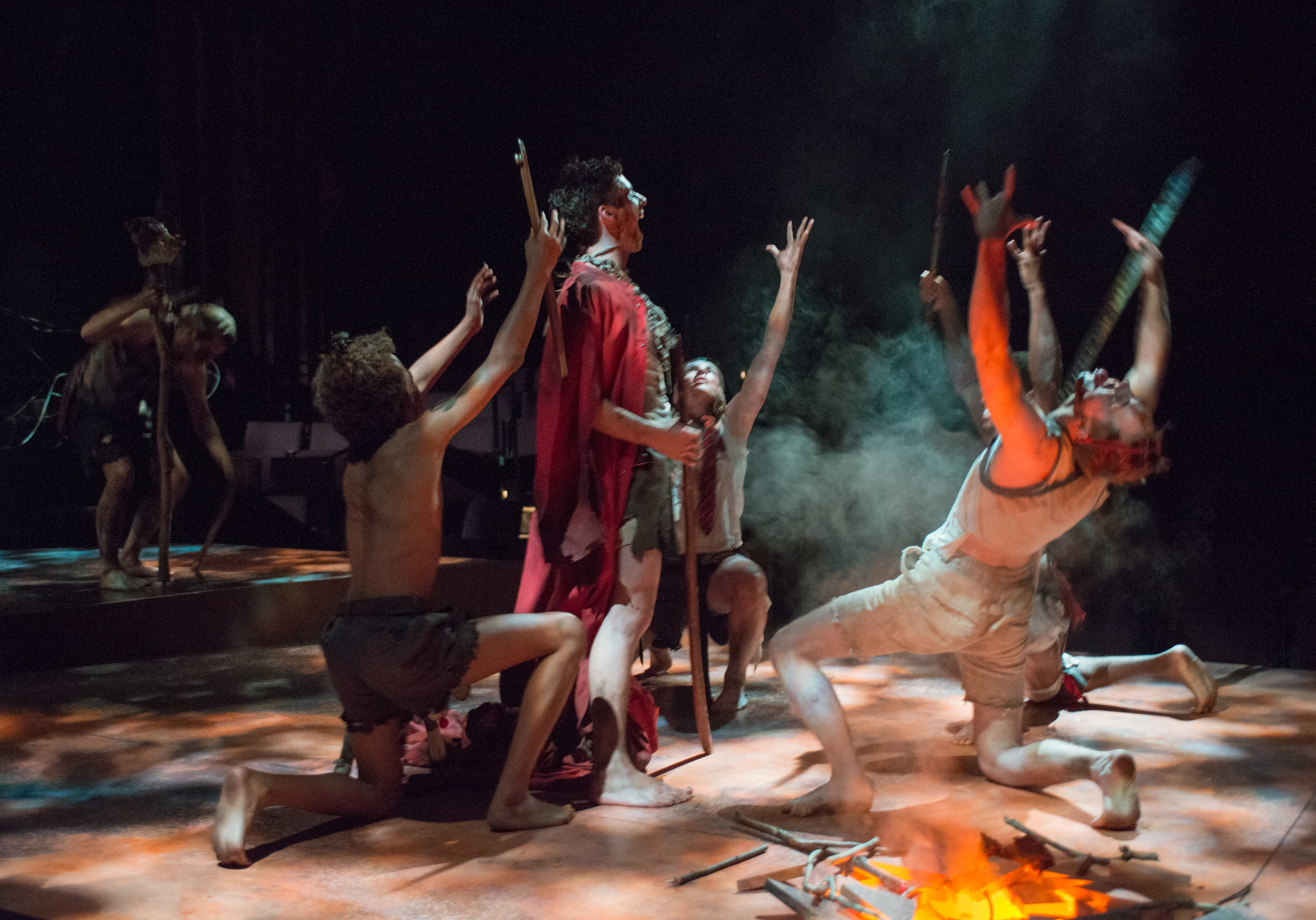 a review of the theater version of lord of the flies Lord of the flies [william golding, e —the new york times book review read more reading lord of the flies as a version of genesis does make the story.
