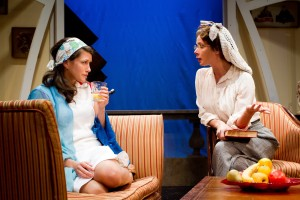 "Sarah Brill & Francesca Day in ""The Learned Ladies"" - Cake Productions and The New Ateh Theater Group."
