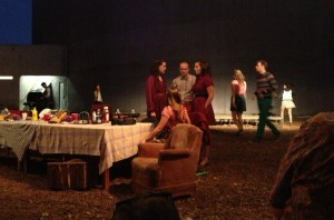 Scene from OUR TOWN at La Jolla Playhouse's WoW Festival - James Hebert, San Diego Union Tribune