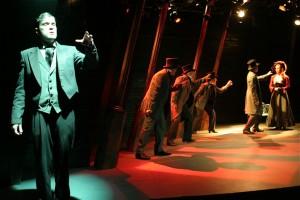 Stephen Van Dorn, Isaac Wade, Mark Bramhall, Deborah Marlowe, Paul Turbiak, Greyson Chadwick in Actors Co-op's production of DR. JEKYLL AND MR. HYDE.