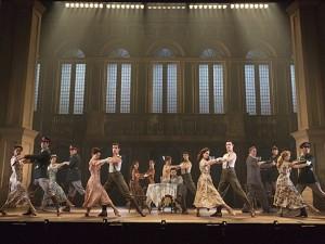 The national tour cast of Evita.