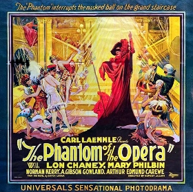 Post image for Los Angeles Music/Film Preview: THE PHANTOM OF THE OPERA: HALLOWEEN ORGAN AND FILM (Walt Disney Concert Hall)