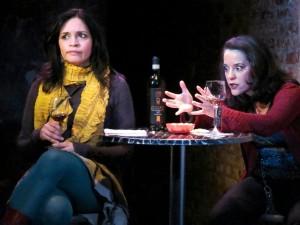 Veronica Cruz and Karla Hendrick.  Photo by Adele Bossard.
