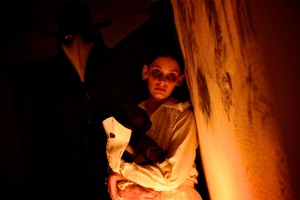 """Delusion: Masque of Mortality,"" The Original Interactive Horror Theatre at Bethany Presbyterian Church in Silverlake."