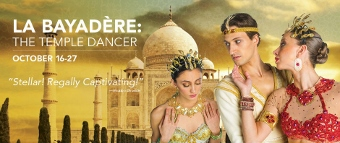 Post image for Chicago Dance Review: LA BAYADÈRE: THE TEMPLE DANCER (Joffrey Ballet)