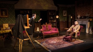 Bruce Ladd and Daniel J. Roberts in Fremont Centre Theatre's production of A PERFECT LIKENESS.