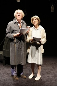 Michael Gambon and Eileen Atkins in Samuel Beckett's ALL THAT FALL, directed by Trevor Nunn, at 59E59 Theaters.