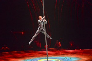 Amaluna Cirque du Soleil, Chinese Pole