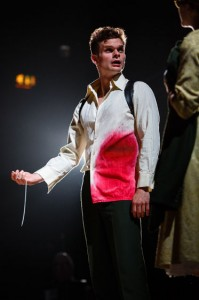 Andrew Durand plays Tristan in the West Coast premiere of Tristan & Yseult, Kneehigh's best-loved and most critically acclaimed show.