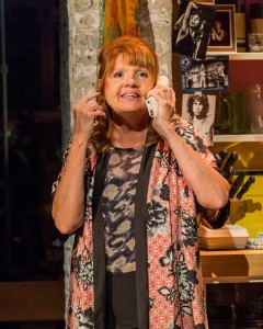 Annie Golden in the world premiere of THE BLACK SUITS at the Kirk Douglas Theatre.