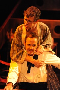 Brian Mulligan and Craig Anton in Cal Rep's production of PENELOPE.