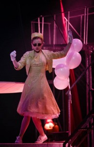 Carly Bawden in Kneehigh's Tristan & Yseult at Berkeley Rep.
