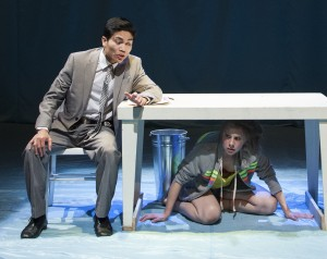 Chevy Kaeo Martinez  & Christina Toth in MORE, part of NORWAY PLAYS.