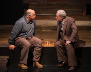 "David Wohl and Bernard Beck in Ron Hirsen's ""Elegy"" at Victory Gardens."