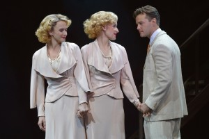Emily Padgett, Erin Davie and Matthew Hydzik in La Jolla Playhouse's re-imagined production of SIDE SHOW.