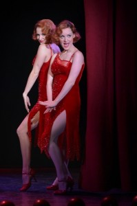 Emily Padgett as 'Daisy' and Erin Davie as 'Violet' in La Jolla Playhouse's re-imagined production of SIDE SHOW.