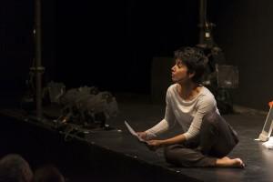 Fawzia Mirza in White Rabbit, Red Rabbit at MCA Chicago