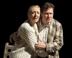 Ingrid Kullberg-Bendz & Andrew Langton in THE RETURNING, part of NORWAY PLAYS.