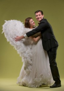 Kari Yancy and Sean Thompson in 42ndStreet Moon's production of I MARRIED AN ANGEL.