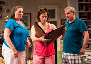 Kirsten Fitzgerald, Cheryl Graeff and Keith Kupferer in APPROPRIATE at Victory Gardens