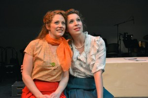 Kristi Holden and Lowe Taylor in Musical Theatre Guild's production of WONDERFUL TOWN.